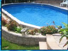 perfect inground item4 item5 to partial pool semi inground swimming pools d46