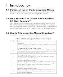 Standard Work Templates Standard Work Instructions Excel Template