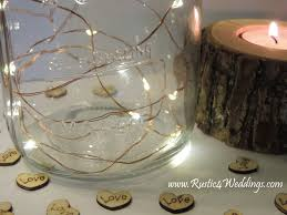 wedding table lighting. 5 Sets Battery Fairy Lights - Warm White On Copper Wire LED Rustic Wedding Table Lighting ,