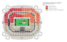 Capital One Orange Bowl Seating Chart Oklahoma College Football Playoff