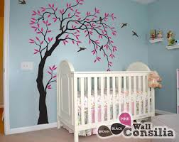 nursery tree wall decals on tree wall art for baby nursery with baby room wall decals buy wall decals for kids online