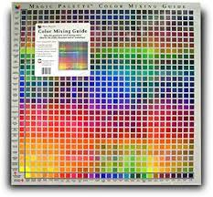 Paint Color Mixing Chart Magic Palette Studio Color Mixing Guide 24inc