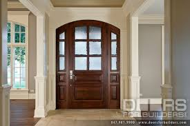 stylish single entry doors with glass with classic collection solid wood entry door true divided privacy
