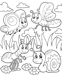 Small Picture Insects coloring page 22 to print or download for free
