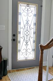 do you live with an ugly dated door here is how we brightened our entryway