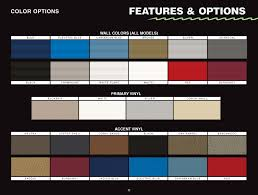 Color Charts Avalon Pontoon Boats