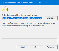Using The Inbox Repair Tool Scanpst Exe Howto Outlook
