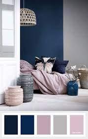 navy blue mauve and grey color palette