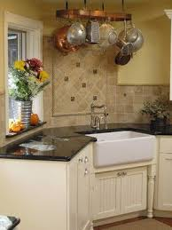 Houzz Farmhouse Kitchens   Yahoo! Search Results. (Like The Pots Hanging  Over The