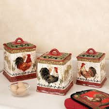 Decorative Chickens For Kitchen Rooster Kitchen Collection Touch Of Class