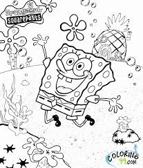 Coloring Pages Easter Printable Fresh Free Printable Sponge Bob