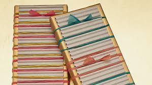 raffia tied gift wrap