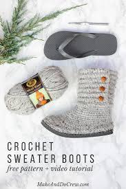 Crochet Boot Pattern Amazing Ideas