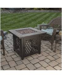 Amazing Sales On Uniflame Slate Lp Gas Outdoor Fire Pit Table Blue Rhino