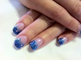 Brush Polish Cnd Shellac Nail Art Glitter Fade Mermaid Style Blue ...