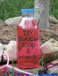 diy bubble soap and wands make your own summer fun with homemade bubble solution and