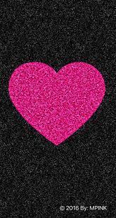 cute pink heart wallpaper