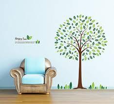 ufengke robin birds wall stickers tree