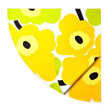 yellow round tablecloth uk