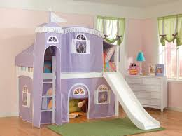 cool kids beds with slide. Brilliant Kids Cool Bolton Kids Windsor Castle Loft Bed And White Ladder Beds With Slide