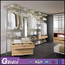 hottest luxury aluminum profile closet cabinet organizer innovative cloth modular wardrobe