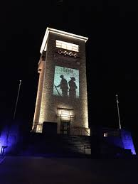 whilst many regional towns are commemorating the anzac centenary in different and meaningful ways goulburn regional art gallery has collaborated with a aussie lighting world