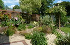 dry gravel garden design planting