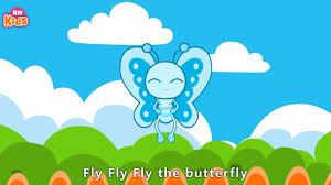 Bài Hát Tiếng Anh Trẻ Em - Fly Fly Fly The Butterfly | Bé Học Tiếng Anh Qua  Bài Hát | Kids Song - Tuyển tập nhạc thiếu nhi hay. - #1 Xem lời bài hát