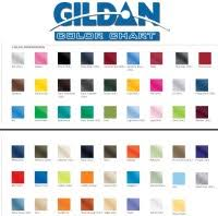 Gildan 5000 Color Chart 2018 2018 Gildan Color Chart Gildan Color Chart 2018
