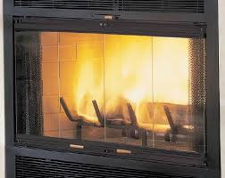 fireplace or wood stove glass