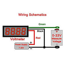 basic motorcycle wiring diagram voltmeter wiring diagram source amazon com drok 0 56 4 digits dc 0 33v led digital voltmeter 12v motorcycle wiring harness diagram basic motorcycle wiring diagram voltmeter