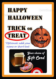 Halloween Gift Cards Halloween Gift Card Holder Amazon Coffee Other Gift Card