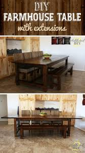 diy outdoor farmhouse table. Medium Size Of Diy Farmhouse Tables Table Ana White Outdoor And