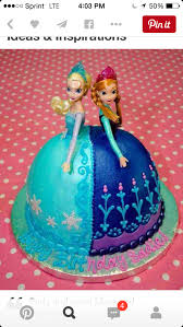 Double Barbie Frozen Cake Redemption Edition My Own Unexpected