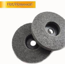 buffing wheel for grinder. quality10pcs 4\u0027\u0027 polishing nylon fiber wheels thickened disc buffing wheel for angle grinder free shipping-in pad from home u