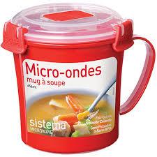 Суповая кружка <b>Sistema Microwave 1107 red</b> — купить по лучшей ...