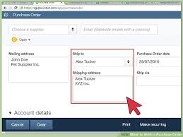 What Is A Purchase Order Number 4 Ways To Write A Purchase Order Wikihow