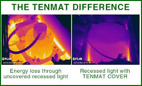 Image result for Tenmat recessed light covers