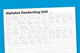 Kindergarten Free Handwriting Worksheets Printing Kindergarten ...