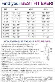 Plus Size Clothing Size Chart Sport Top Intimates On The Plus Side By Making It Big