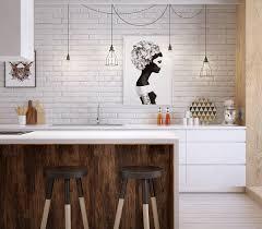 Best Hardwood For Kitchen Floor Contemporary Kitchen Best Contemporary White And Wood Kitchen