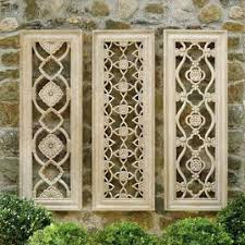 harlow wall decor set of three on front gate wall art with fleur wall art frontgate