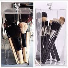 gl makeup brush holder keep your brushes all together and dust free with the brush holder