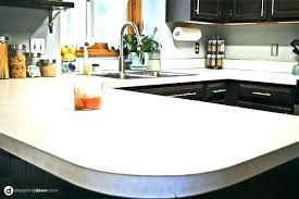 awesome spray on countertops spray paint countertops white