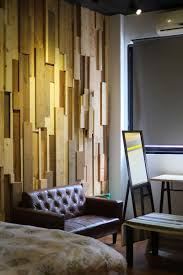 Decorations:Cool Wooden Wall Decorations Idea In The Dining Room Unique  Wood Wall Decoration With