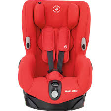 maxi cosi axiss car seat nomad red