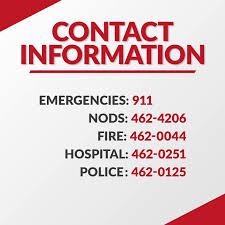 Emergency List Antigua News Emergency Contact Numbers