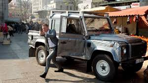 The Land Rover Defender James Bond (Daniel Craig) In Skyfall