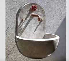 hydra concrete utility wall sink gardenista 1