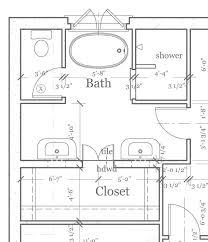 Master Bathroom Dimensions Interesting Decoration